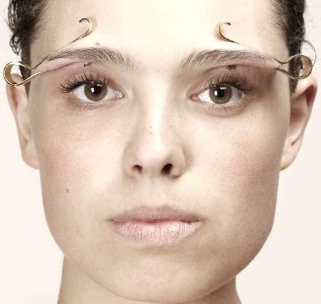 Avant-Garde Facial Accessories - The Interestingly Odd Jewelry Designs of Imme van der Haak
