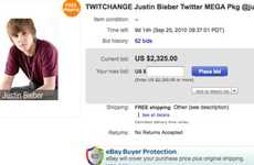 Auctioning off Twitter Followers - The TwitChange Auction Sells off Celebrity Followers