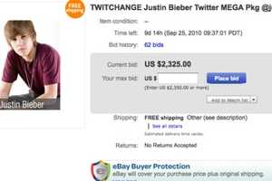 The TwitChange Auction Sells off Celebrity Followers