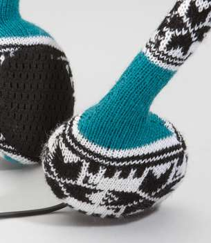 neff knitted headphones