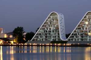 The 'Wave in Vejle' Won a Leaf Award for Residential Building of the Year