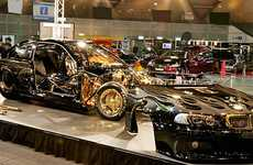 Glamorously Gilded Cars