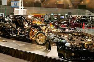 The BMW Goldie Horn is Customized Luxury
