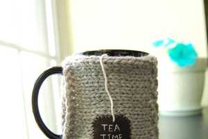 Keep Your Cold Wintery Days Even Warmer with the Coffee Tea Mug Cozy
