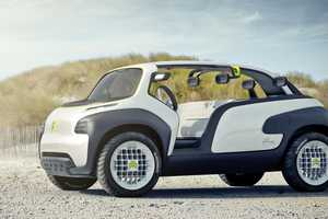 The Citroen Lacoste Concept Vehicle is Full-Throttle Fashionable