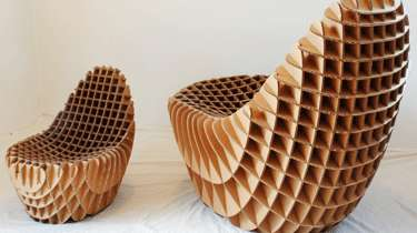 Comfy Waffle Seating