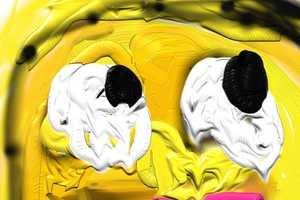 The Infamous Painted Series 'Happyplz' Internet Icons