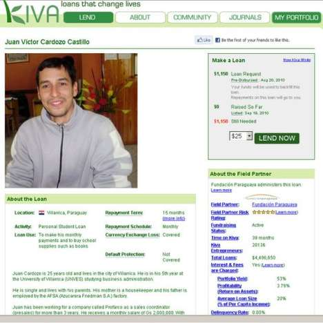 Student Loan Micro-Lending - Kiva Student Loans Let You Fund a Student's Education
