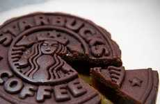 Exoticized Coffee Cakes - Taste a Bit of the Orient with the Starbucks Mooncake