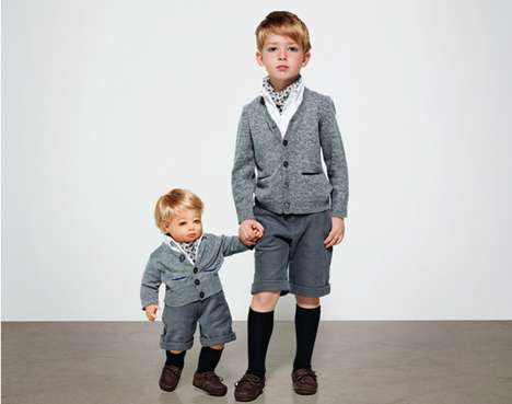 Doll Doppelganger Photography - The Achim for Kid's Wear Magazine Will Make You Look Twice