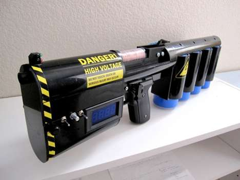 Dangerous DIY weapons - The CG-33 Portable Coilgun is Deadly