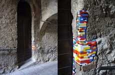 LEGO Building Refurbishments - 'Dispatchwork' by Jan Vormann is Restoration Artchitectur