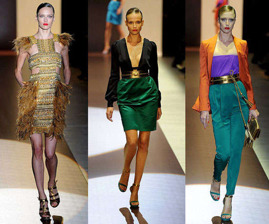 Jewel-Toned Couture