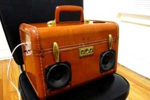 The BoomCase Turns Old Suitcases into Boomboxes