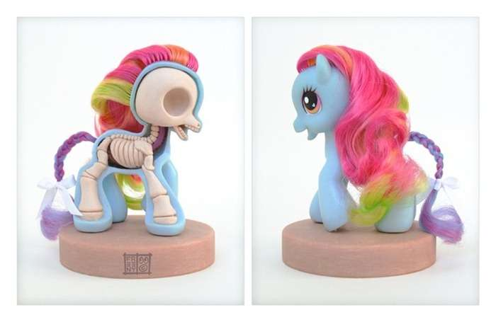 Anatomical Toy Ponies
