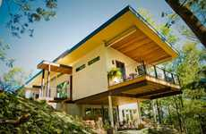 Hemp-Happy Homes - The Hemp Push House Makes a Healthy Debut in the US