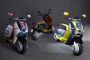 Hybrid Mini E Scooter to be Unveiled at Paris Motor Show