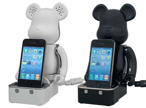 Bear Brick iPod dock