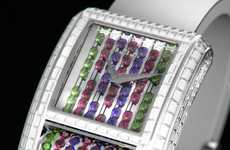 Bejeweled Watch Faces - The Fantasia Watch is in a League of Luxury All Its Own