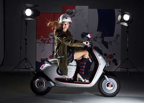 bmw mini scooter e
