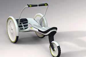 The Three-Wheeled RowRay by Troels Oehman is Designed for Family Fun