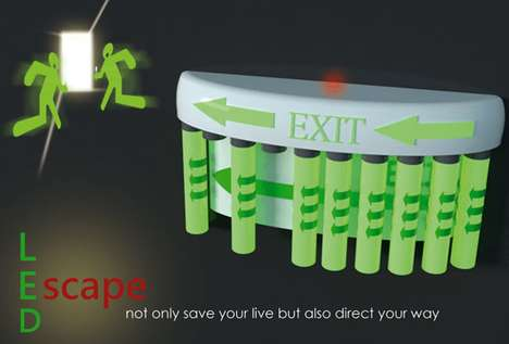 led escape light