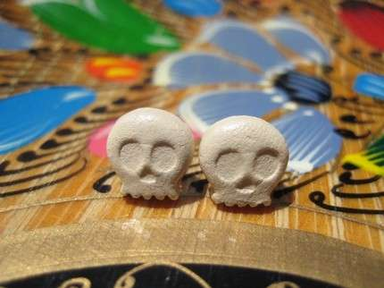 Skull Babies Stud Earrings