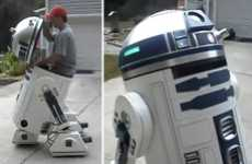 Youtube User Dmalford1 Creates a Life-Sized Motorized R2-D2