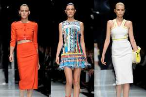 The Versace Spring 2011 Collection is Sexy & Sophisticated