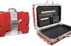 Superhero Suitcase Replicas - The Tony Stark Mark V Briefcase Will Make You Feel Invincible