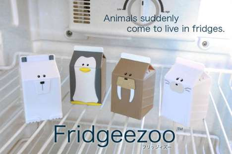 fridgeezoo talking milk cartons
