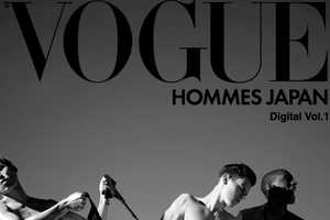 Vogue Hommes Japan Breaks the Silence with First iPad Editorial