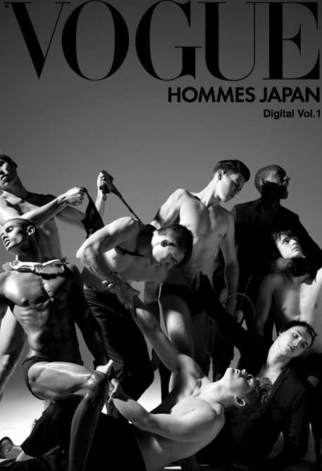 Animated Fashion Lookbooks - Vogue Hommes Japan Breaks the Silence with First iPad Editorial
