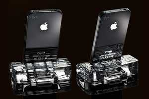These Calypso Crystal iPhone Docks Capture Endless Beauty