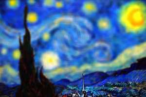Tilt Shift Van Gogh by Serena Malyon is a Photoshopped Classic