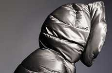 Silver Cocoon Jackets