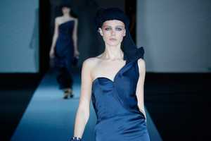The Giorgio Armani Spring Summer 2011 is Gorgeously Mysterious