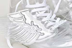 Jeremy Scott Adidas JS Wings Spring/Summer 2011 Sneakers are Crystal Clear