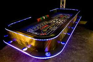The Monte Carlo Casino Table Brings the Lights of Vegas to Your Home