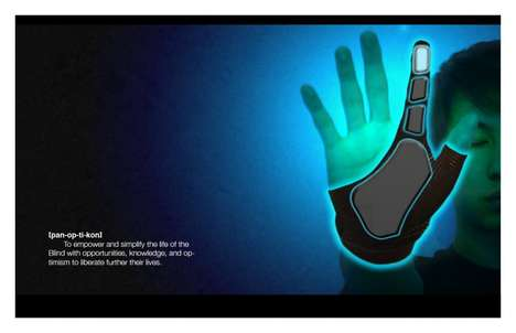 Transmuting Multimedia Gloves - The 'Panopticon' Device Will Read to You Aloud