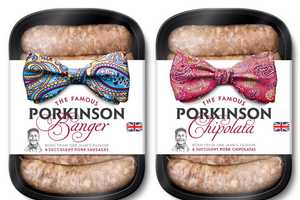 The JKR Porkinson Sausage Package Redesign is Adorable