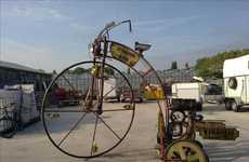 Oversized Steampunk Trikes