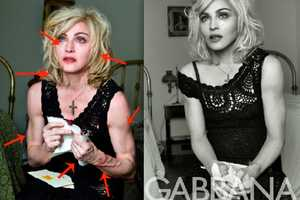 Madonna Dolce & Gabbana Ad Campaign Reveals Before and After Pics