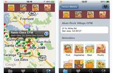Organic Food Finders - The 'Farmers Market' iPhone App is Will Have You Eating Fresh