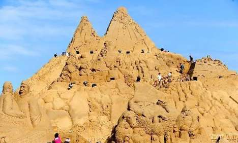 World s Largest Sand Sculpture