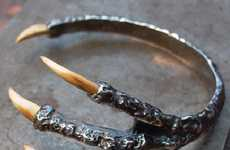 Creepy Claw Bracelets - Pamela Love Mammoth Talon Cuff Puts a Chilling Grip on Your Wrist