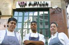 Pioneering Apprenticeship Programs - Fifteen Restaurant Offers Opportunities to Disadvantaged Youth