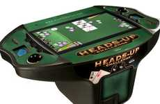 Simulated Casino Tables