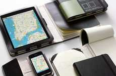 Note-Taking iPhone Covers - Moleskine Covers for iPhones Take a Page From Notebooks