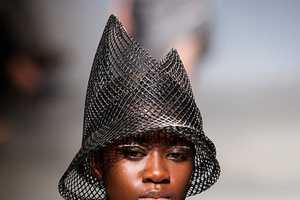 Issey Miyake Spring 2011 Shows Modern Takes on the Straw Hat